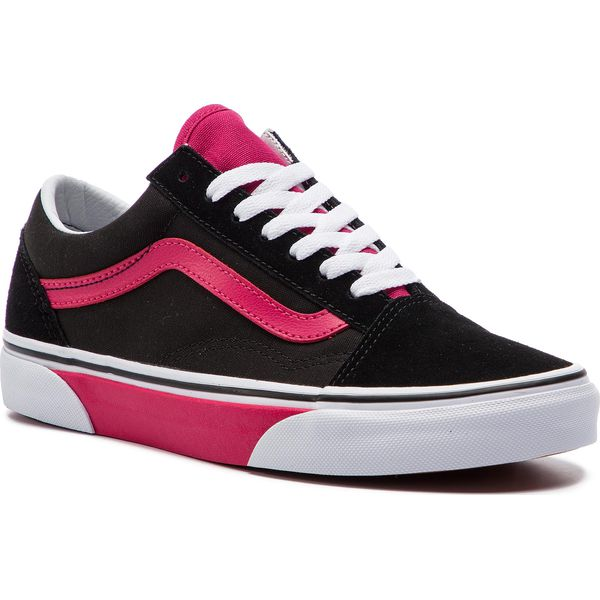 82c61ddf260097 Tenisówki VANS - Old Skool VN0A38G1VR21 (Color Block) Black Jazzy ...