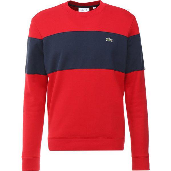 b3fed743d7761 Lacoste Bluza red navy blue - Bluzy męskie marki Lacoste. Za 499.00 ...