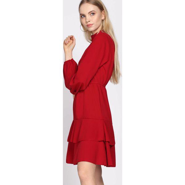 e0bfeeea9a Czerwona Sukienka Failure - Czerwone sukienki damskie Born2be