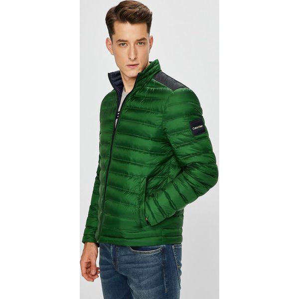 338dc09a24da Calvin Klein - Kurtka puchowa - Zielone kurtki męskie Calvin Klein ...
