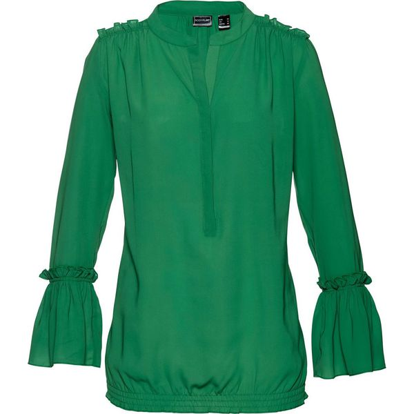ac11a1087d Bluzka bonprix zielony - Bluzki damskie marki bonprix. Za 74.99 zł ...