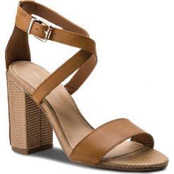 7f0a34827ced2 Sandały damskie: Sandały TOMMY HILFIGER - Feminine Heel Sandal Star Stud  FW0FW02235 Summer Cognac 929