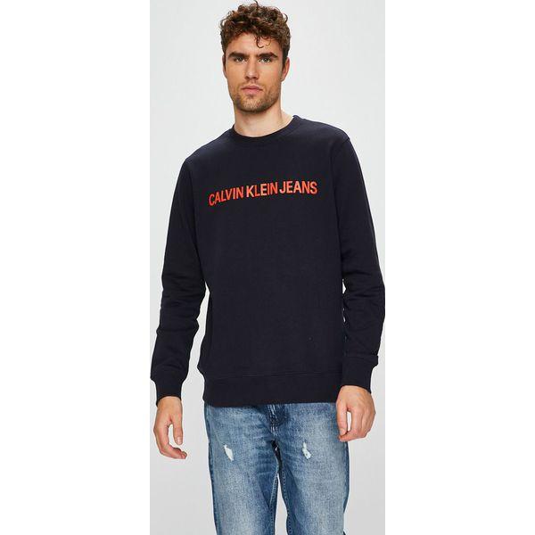 9b2ba8ca8e217 Calvin Klein Jeans - Bluza - Bluzy męskie marki Calvin Klein Jeans. W  wyprzedaży za 279.90 zł. - Bluzy męskie - Odzież męska - Odzież - Sklep  Radio ZET