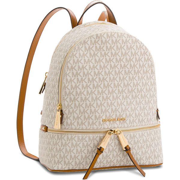 2bf463de88e58 Plecak MICHAEL KORS - Rhea Zip 30S7GEZB1B Vanilla - Brązowe plecaki ...