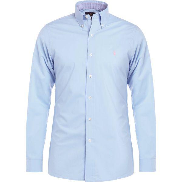 2372bebae5cf Polo Ralph Lauren POPLIN CUSTOM FIT Koszula light blue - Niebieskie ...