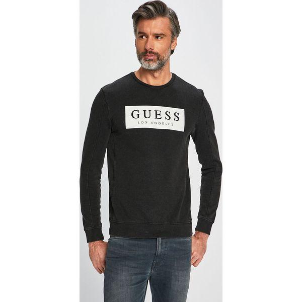 cb000b93abc7a Guess Jeans - Bluza - Bluzy męskie marki Guess Jeans. Za 319.90 zł. - Bluzy  męskie - Odzież męska - Odzież - Sklep Radio ZET
