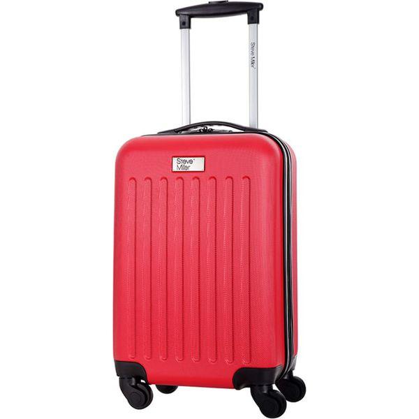 67b706ea11c61 Walizka w kolorze czerwonym - 32 l - Czerwone walizki damskie marki  Bagstone, Steve Miller, z materiału. W wyprzedaży za 149.95 zł.