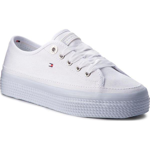 5c6705cf78b02 Tenisówki TOMMY HILFIGER - Pastel Flatform Sneaker Sneaker ...