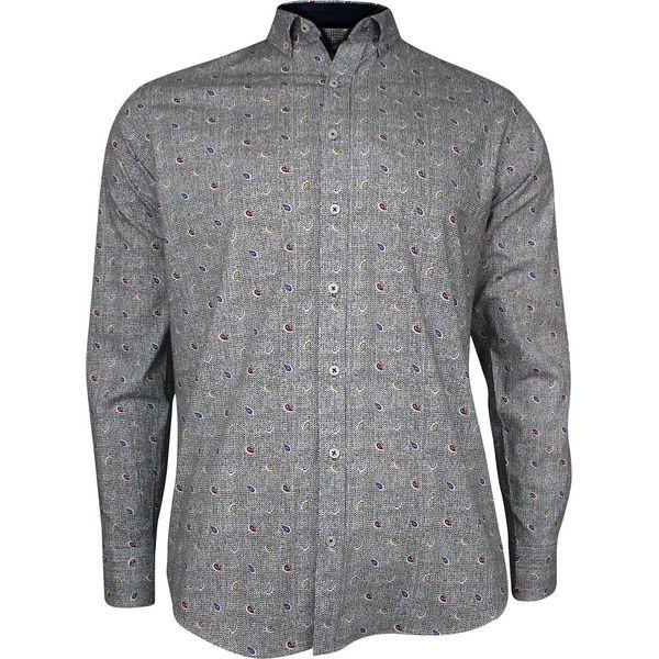 Szare koszule męskie Rigon Kolekcja lato 2020 Sklep  I05U5