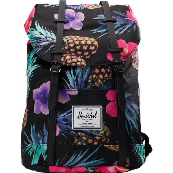 e44ba529f928b Herschel RETREAT Plecak black rubber - Czarne plecaki damskie marki Herschel.  W wyprzedaży za 359.10 zł. - Plecaki damskie - Torby i plecaki damskie ...