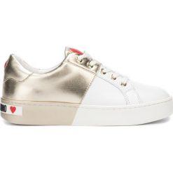 Love Moschino tenisówki damskie JA15183G18IF0 39 białe