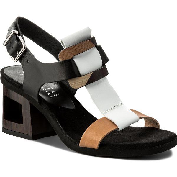 c7cb7f14f5ad5 Sandały HISPANITAS - Fiji CHV87002 Natural/Black - Czarne sandały ...