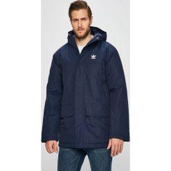 Niebieskie kurtki i płaszcze męskie Adidas, kolekcja wiosna 2020