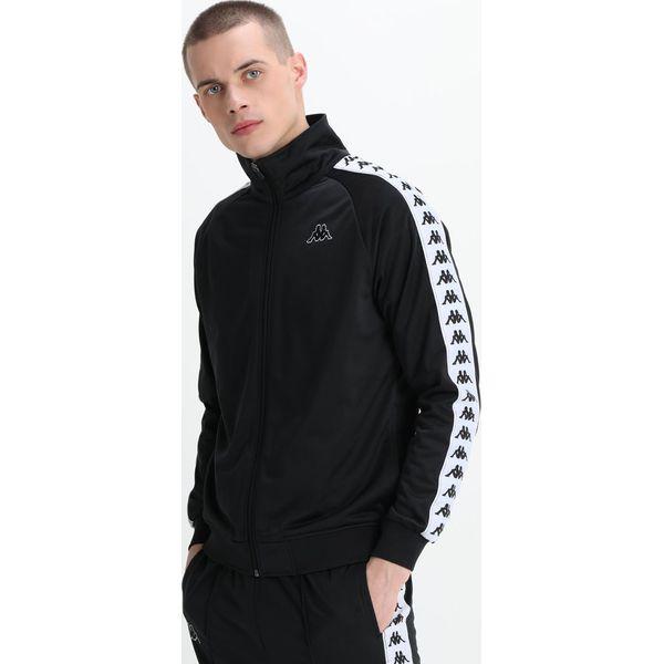 ee757766e Kappa BANDA DUEDUEDUE Dres black/white - Spodnie sportowe męskie ...