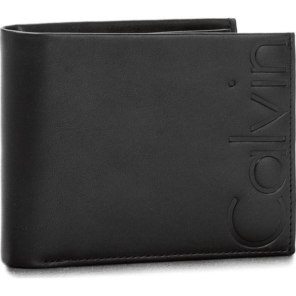 e771c582984e7 Duży Portfel Męski CALVIN KLEIN JEANS - Vacchetta Contrast 5 K50K503746 001  - Czarne portfele męskie marki Calvin Klein Jeans