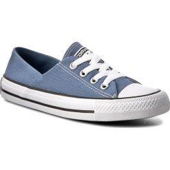 Wyprzedaż niebieskie trampki i tenisówki damskie Converse
