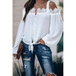 Koszula damska KEMBRA WHITE Białe koszule damskie IVET  HcM98