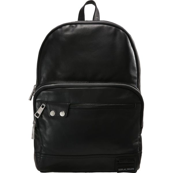 acf25ac1d6a85 Replay BORSA Plecak black - Czarne plecaki męskie marki Replay. Za ...