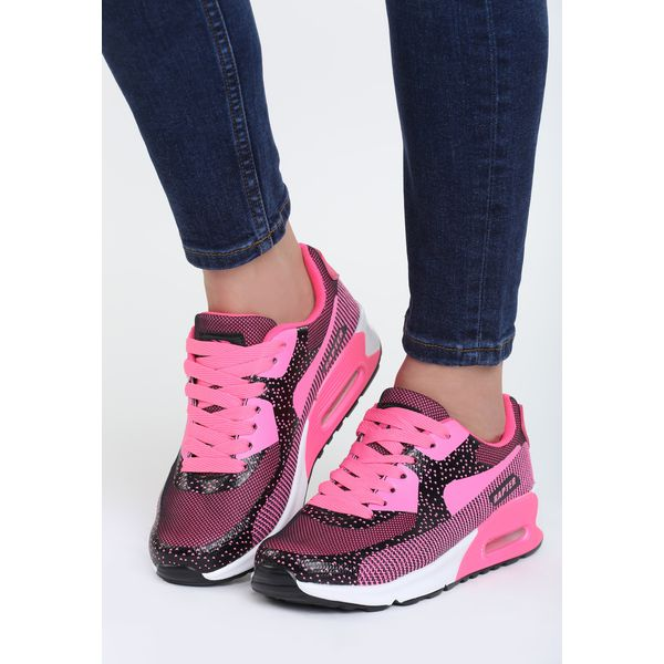 93fc76e7fc2f1 Różowe Neonowe Buty Sportowe Candy - Obuwie sportowe damskie marki Born2be.  Za 89.99 zł. - Obuwie sportowe damskie - Obuwie damskie - Buty - Sklep  Radio ZET