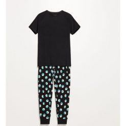 c6b943fb7edde2 Dwuczęściowa piżama - Czarny. Piżamy damskie Reserved. W wyprzedaży za  39.99 zł.