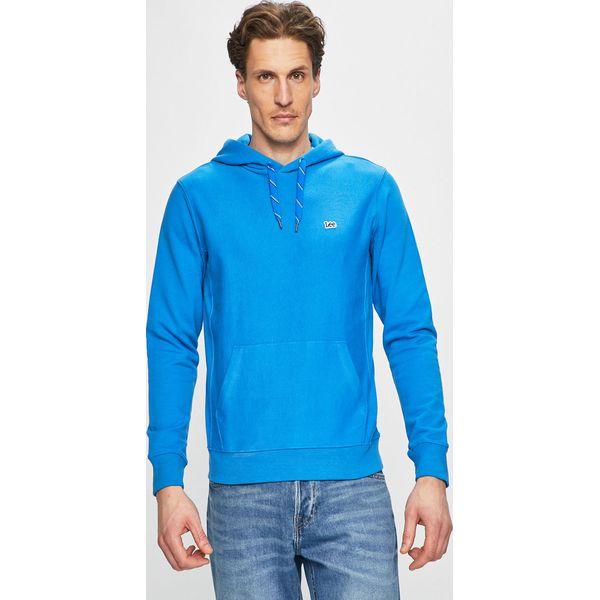 7017c20d8574a Lee - Bluza - Niebieskie bluzy męskie marki Lee, l, z bawełny, z kapturem.  Za 259.90 zł. - Bluzy męskie - Odzież męska - Odzież - Sklep Radio ZET