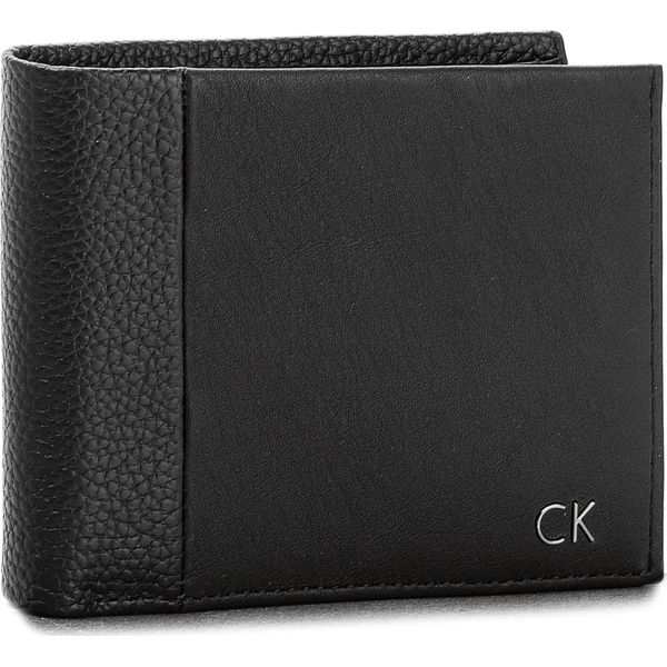 c120f508059e8 Duży Portfel Męski CALVIN KLEIN BLACK LABEL - New Nathan 5Cc + Coin  K50K503565 001 - Czarne portfele męskie marki Calvin Klein Black Label. Za  299.00 zł.