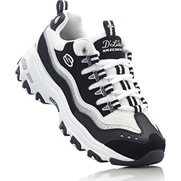 3a6e5da5 Buty sportowe Skechers bonprix czarno-biały - Czarne obuwie sportowe ...