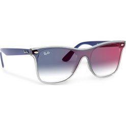 Okulary przeciwsłoneczne RAY BAN Blaze Wayfarer 0RB4440N 64158G GreyBlackGrey Gradient