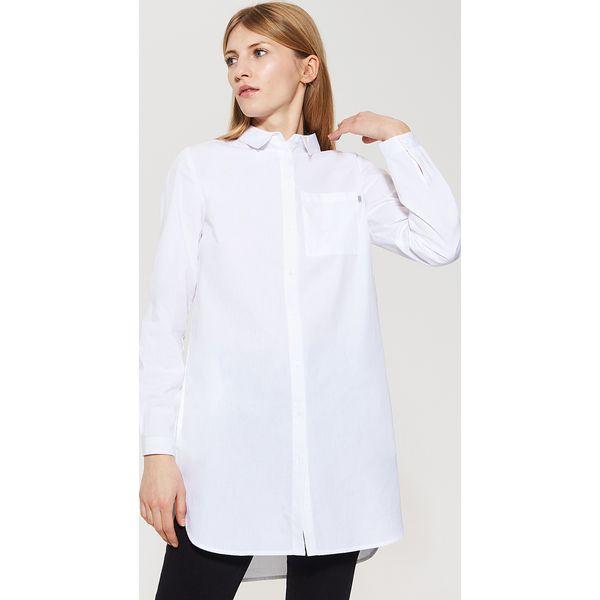 6b251d53c7dec0 Gładka koszula oversize - Biały - Białe koszule damskie House, l. Za ...