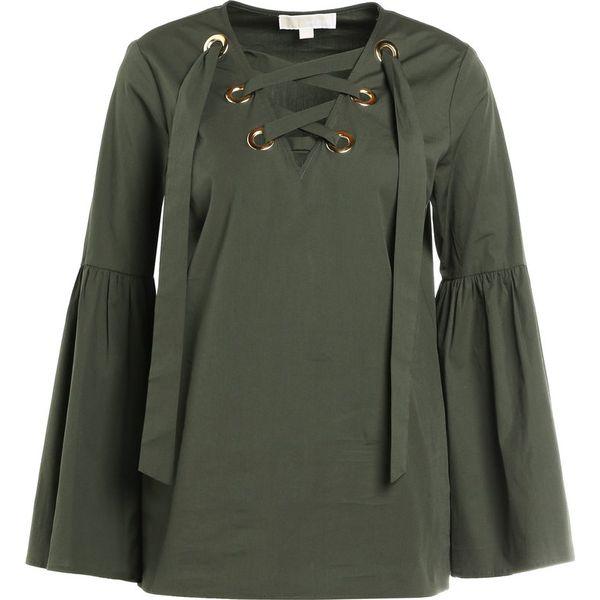 ef6ef55ec2925 MICHAEL Michael Kors Bluzka ivy - Brązowe bluzki damskie marki ...