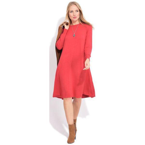 8df484fa9b Fille Du Couturier Sukienka Damska Suzie 44 Czerwony - Sukienki damskie  marki Fille Du Couturier. W wyprzedaży za 251.00 zł.