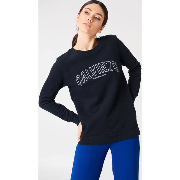 f727c9fcffec8 Calvin Klein Bluza Core Fit 78 - Black - Czarne bluzy damskie marki ...