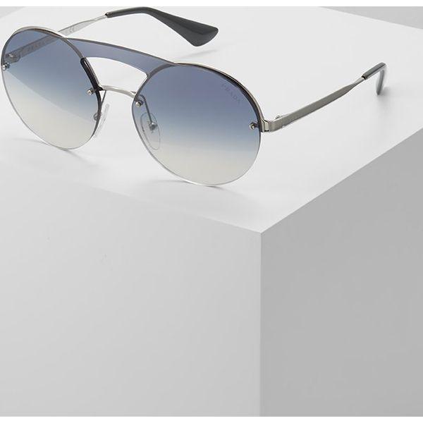 d7b2eb19f26b7 Prada Okulary przeciwsłoneczne gradient blue mirror silvercoloured ...