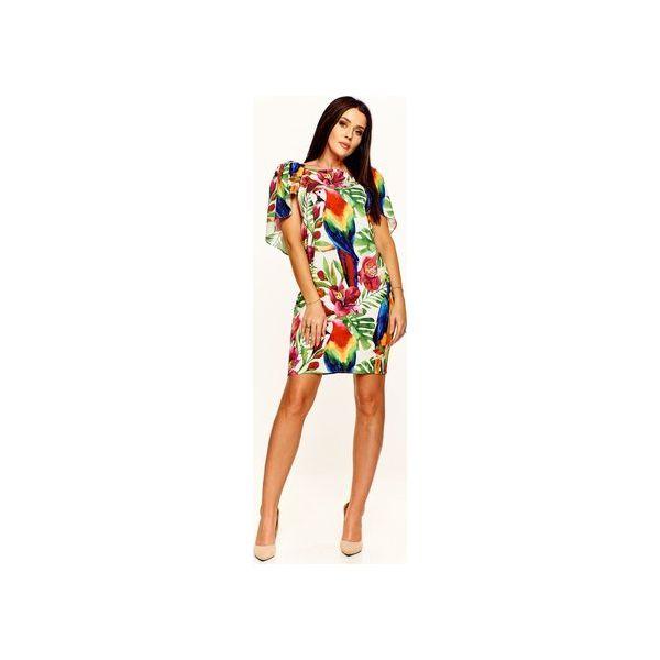 37300653de0177 Sukienka w kolorowy wzór - Sukienki damskie Bird. Za 419.00 zł ...