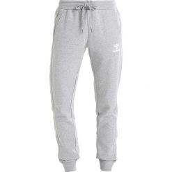 d426b92ee2b4 Hummel HMLLEISURELY PANTS Spodnie treningowe grey melange. Szare spodnie  dresowe damskie marki Hummel