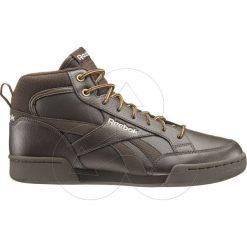 Buty zimowe męskie Reebok z nubuku sportowe sznurowane