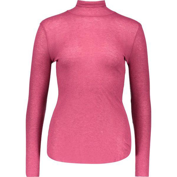 3290cc7d486f19 Koszulka w kolorze jagoowym - Różowe bluzki damskie marki Benetton ...