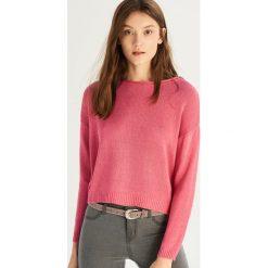 e06233c9926734 Krótki sweter - Pomarańczo. Swetry nierozpinane damskie Sinsay. W  wyprzedaży za 19.99 zł.