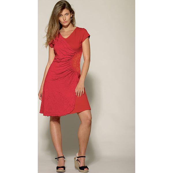 a0b173c933 Sukienka w kolorze czerwonym - Sukienki damskie marki Kéawa. W ...