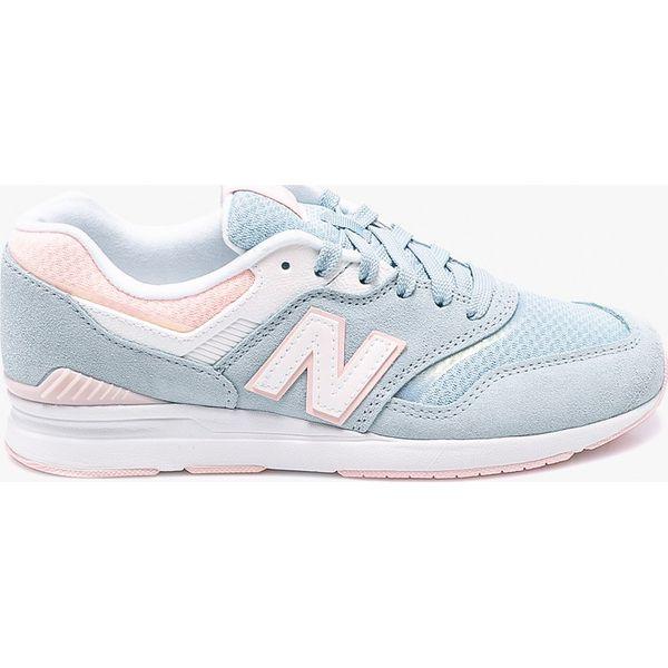 ... 61fbad00ac9e New Balance - Buty WL697PTU - Obuwie sportowe damskie  marki New ... 1959e621bff3 balance NB574 szaro różowe damskie 3640 ... 9b7fe5aa044e1