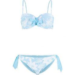fbd5ca9876ceb9 Niebieskie bikini - Kolekcja lato 2019. Bikini na fiszbinach (2 części)  bonprix jasnoniebiesko-biały. Niebieskie bikini bonprix,