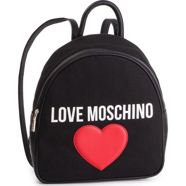 b3195fdf8c511 Plecak LOVE MOSCHINO - JC4331PP07KV100A Canvas/Pebble Nero - Czarne ...