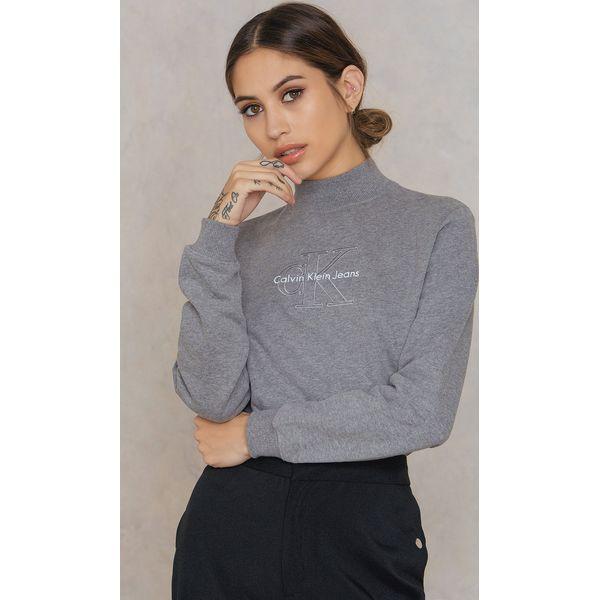 6b1ba69142a7d Calvin Klein Bluza z długim rękawem Hazel True Icon - Grey - Bluzy ...