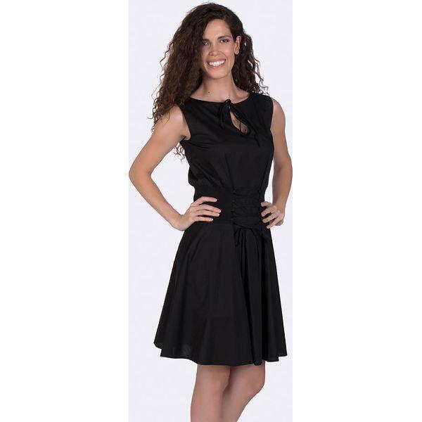 beea73e34b7310 Sukienka w kolorze czarnym - Sukienki damskie marki Giorgio Di Mare ...