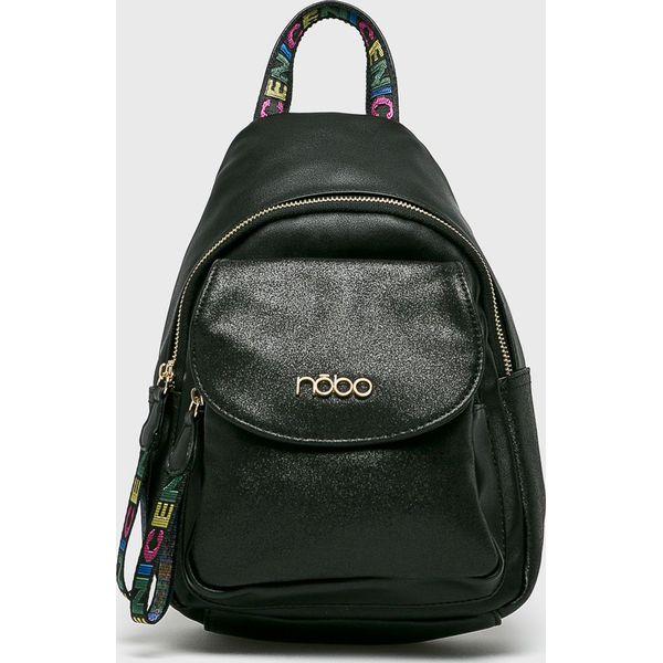 332ce048697c3 Nobo - Plecak - Czarne plecaki damskie marki NOBO, z materiału. Za ...