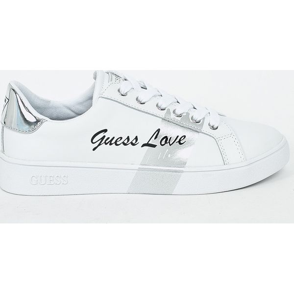 9d439268d604e Guess Jeans - Buty - Szare obuwie sportowe damskie marki Guess Jeans ...