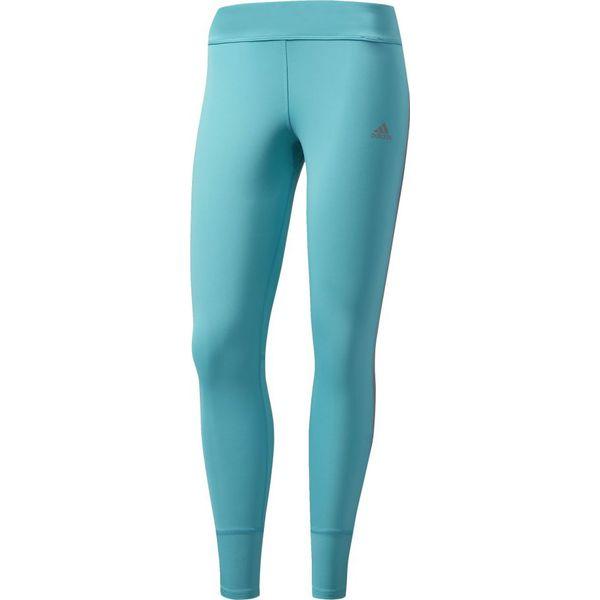 gorące produkty wylot Najnowsza Adidas Legginsy Response Long niebieskie r. M (S98120)