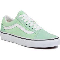 Zielone buty Vans Kolekcja zima 2020 Sklep Radio ZET