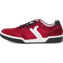 Czerwone obuwie męskie Kolekcja wiosna 2020 Sklep Radio ZET