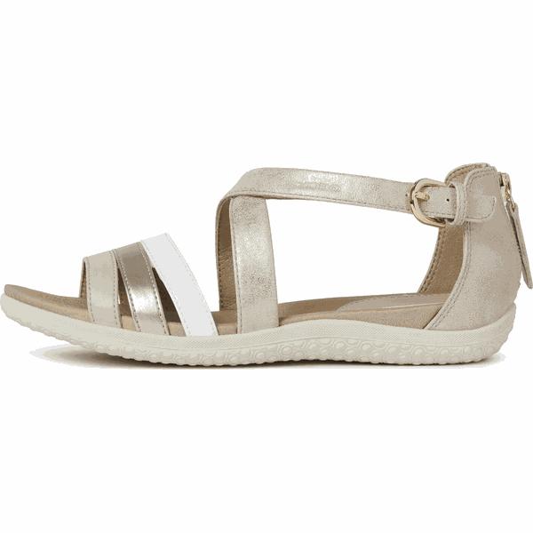Geox sandały damskie Sandal Vega D02R6D 0PVHH 38 złote